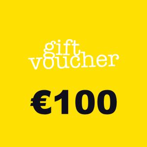 100 Euros voucher product presentation